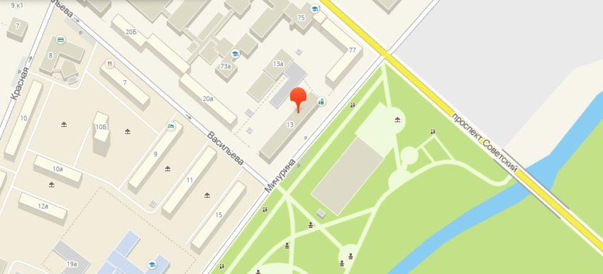 Улица Мичурина, 13 в Кемерове — 2ГИС – Yandex