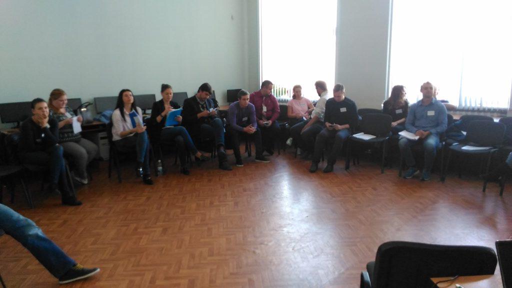 Тренинг для председателей молодёжных советов СДС