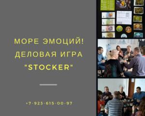 Деловая Игра СТОКЕР в Кемерово